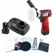 "ARS1207R  Li-ion 12V 3"" Mini Polisher with Headlight Restoration Kit"