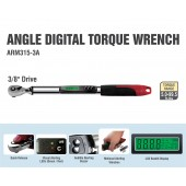 "ARM315-3A  3/8"" Angle Digital Torque Wrench"