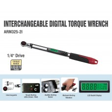 "ARM325-2i  1/4"" Interchangeable Digital Torque Wrench"