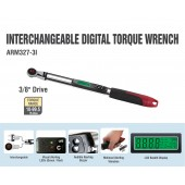 "ARM327-3i  3/8"" Interchangeable Digital Torque Wrench"